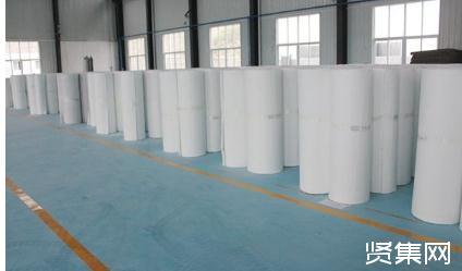 北京建工新材公司、建邦公司首批试生产的气凝胶毡产品正式下线