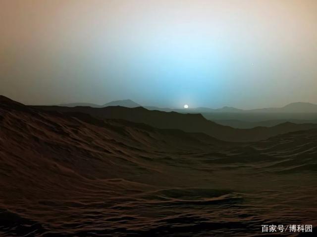 火星地貌艺术概念图