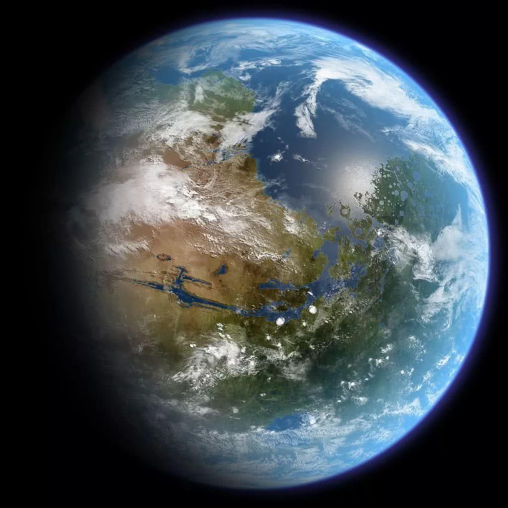 经过地球化改造的火星