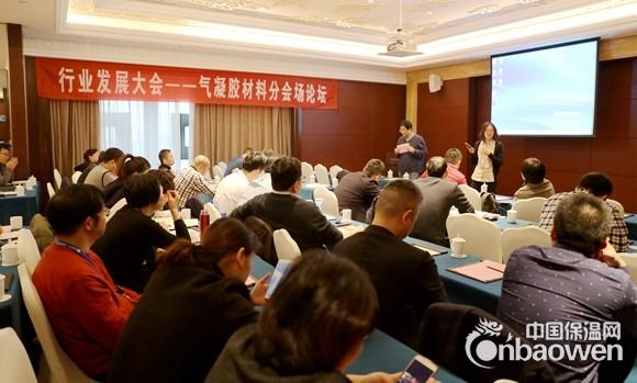 气凝胶材料分论坛——中国绝热节能材料行业发展大会召开